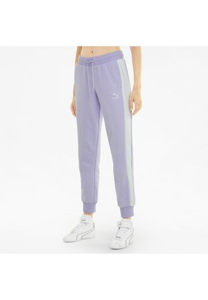 ICONIC T7   - Tracksuit bottoms - light lavender