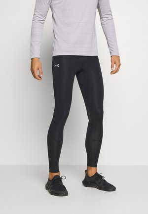UA FLY FAST HEATGEAR TIGHT - Punčochy - black