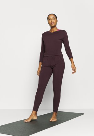 JUMPSUIT WATERFALL - Trainingsanzug - bordeaux