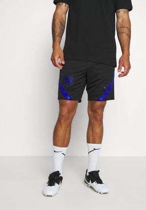 NIEDERLANDE KNVB DRY SHORT - Träningsshorts - black/bright blue