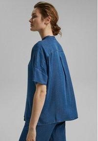 Esprit Collection - Blouse - blue medium washed - 5