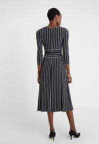 Lauren Ralph Lauren - Jersey dress - black/cream - 2
