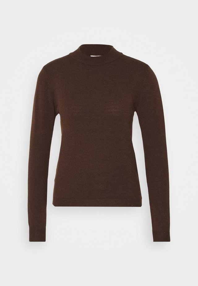 OBJTHESS - Sweter - chicory coffee melange