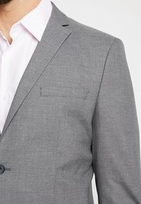 Selected Homme - SHDNEWONE MYLOLOGAN SLIM FIT - Suit - medium grey melange - 6