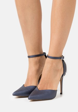 CLEMETIS - Tacones - navy shimmer