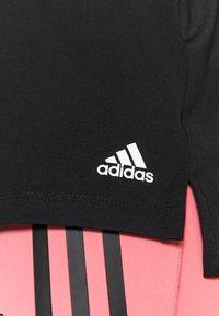adidas Performance - Sportshirt - black/white - 5
