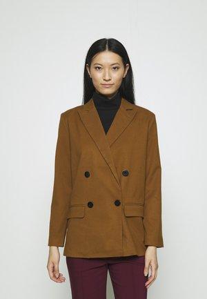 OVERSIZE BLAZER - Cappotto corto - brown
