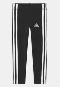adidas Performance - UNISEX - Legginsy - black/white - 0