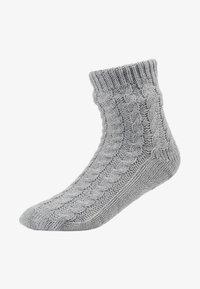 Hunkemöller - SLIPPER SOCK - Sokken - grey - 1
