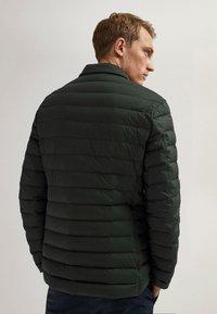 Massimo Dutti - Winter jacket - blue-black denim - 2