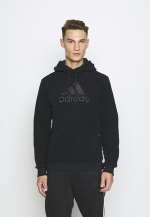 MUST HAVES SPORTS INSPIRED HOODED - Bluza z kapturem - black