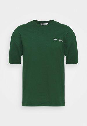 LOGO UNISEX - Basic T-shirt - darkgreen