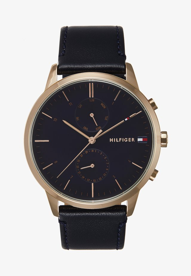 WATCH - Horloge - blue/gold-coloured