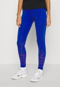 adidas Originals - LOGO TIGHTS - Leggings - team royal blue - 0