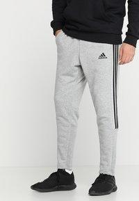 adidas Performance - MUST HAVES SPORT TIRO SLIM FIT PANT - Pantalon de survêtement - medium grey heather/black - 0