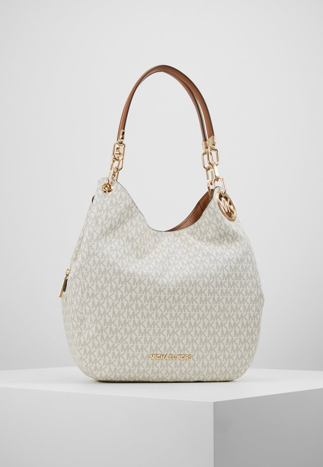 LILLIE CHAIN TOTE  - Shopping Bag - vanilla/acrn