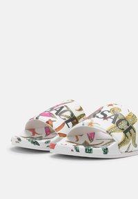 Versace - Mules - white/multicolor - 5