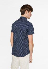 WE Fashion - HERREN-SLIM-FIT-HEMD MIT MUSTER - Shirt - dark blue - 2