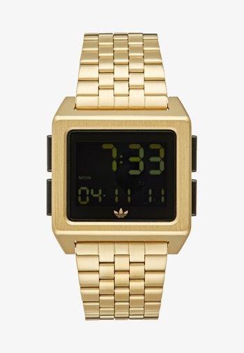 ARCHIVE M1 - Digital watch - gold-coloured/black