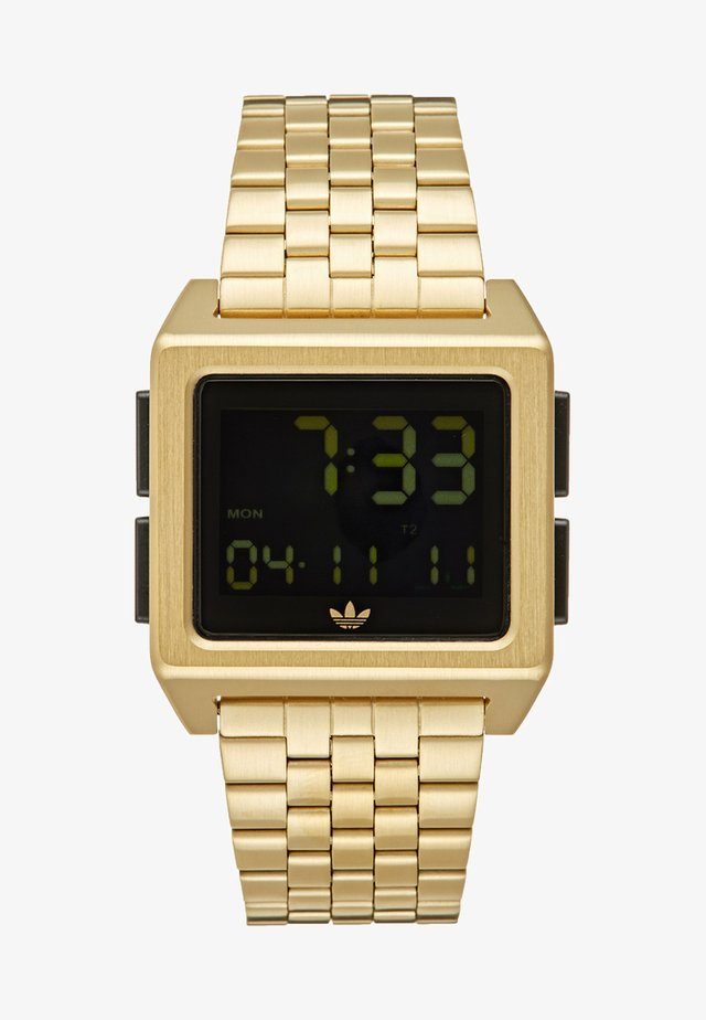 ARCHIVE M1 - Digital watch - gold-coloured/black