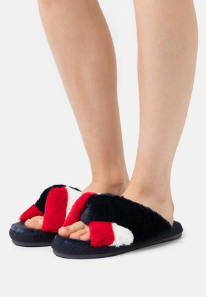 ESSENTIAL SLIPPER - Chaussons - red/white/blue