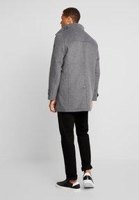 TOM TAILOR - COAT 2 IN 1 - Classic coat - mid grey - 2