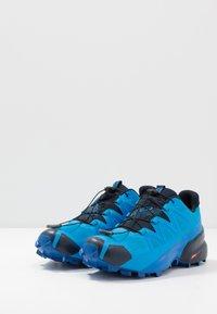 Salomon - SPEEDCROSS 5 GTX - Trail running shoes - blue aster/lapis blue/navy blazer - 2