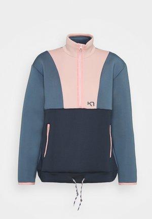 SANNE - Fleece jacket - sail
