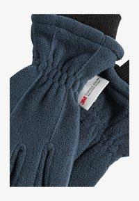 Next - NAVY FLEECE GLOVES (OLDER) - Gloves - blue - 1