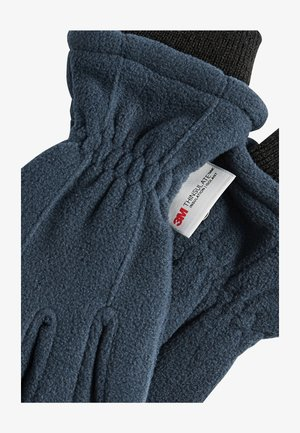 NAVY FLEECE GLOVES (OLDER) - Gloves - blue