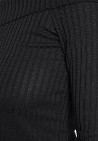 NA-KD - LONG SLEEVE OVERLAP - Long sleeved top - black - 5