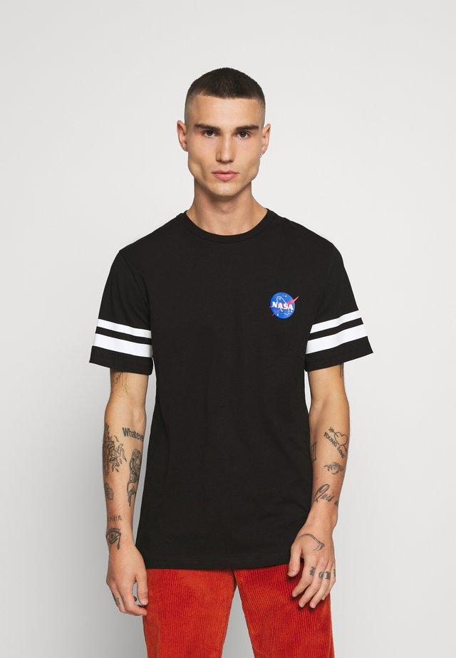 ONSNASA STRIPE TEE - T-shirt z nadrukiem - black