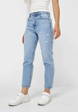 MOM-FIT  - Straight leg -farkut - blue denim