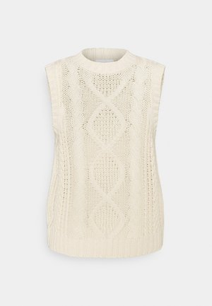 VIATLAN VEST - Jumper - birch