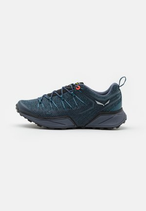 DROPLINE - Hiking shoes - mallard blue/grisaille