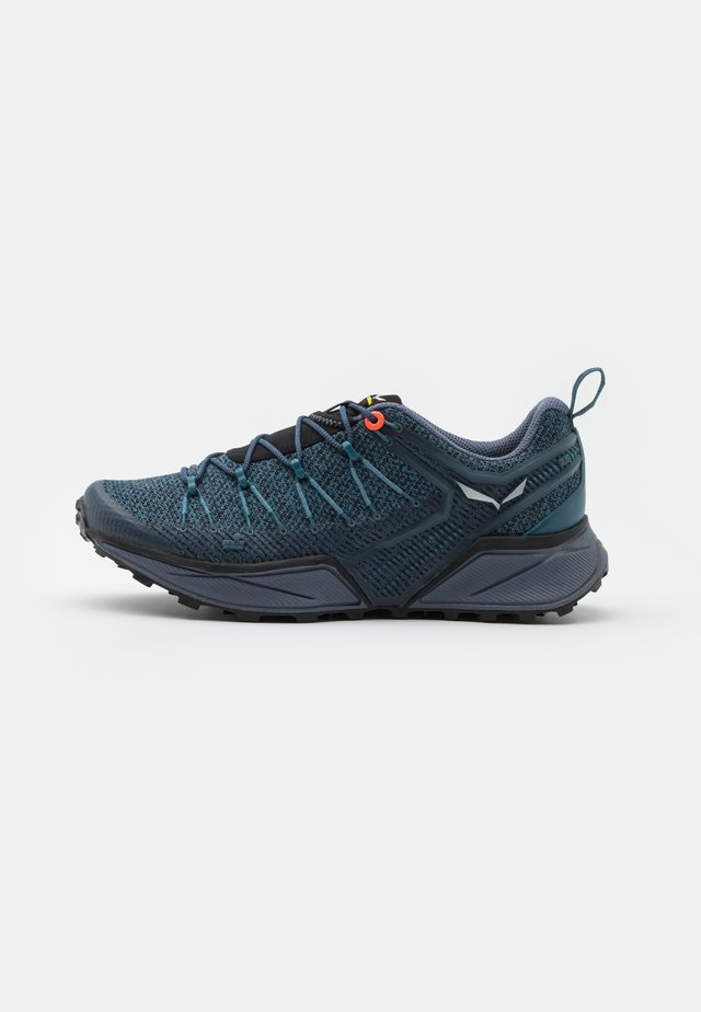 DROPLINE - Chaussures de marche - mallard blue/grisaille