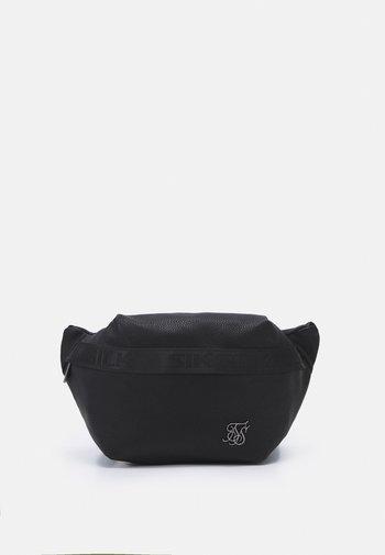 TAPED POCKET BUMBAG UNISEX - Bum bag - black
