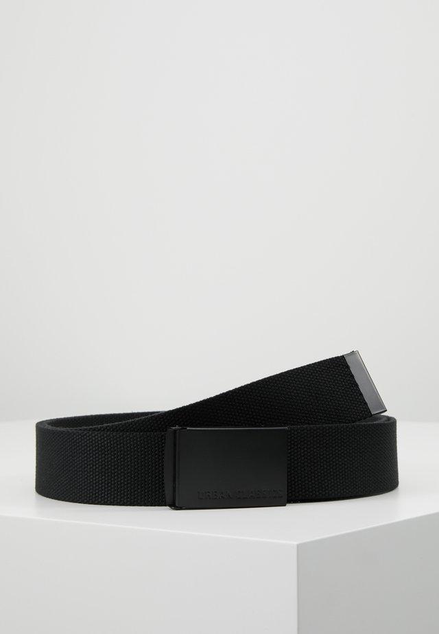 LONG BELT - Ceinture - black
