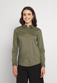 JDY - Button-down blouse - kalamata - 0