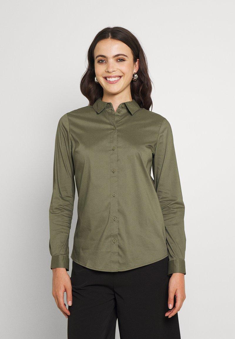 JDY - Button-down blouse - kalamata