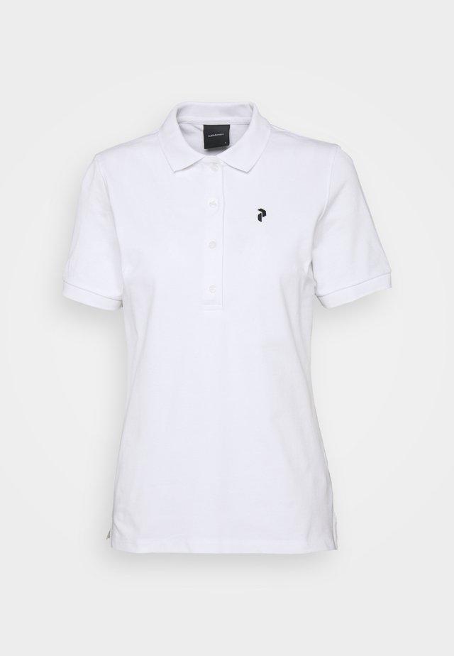 CLASSIC  - Poloskjorter - white