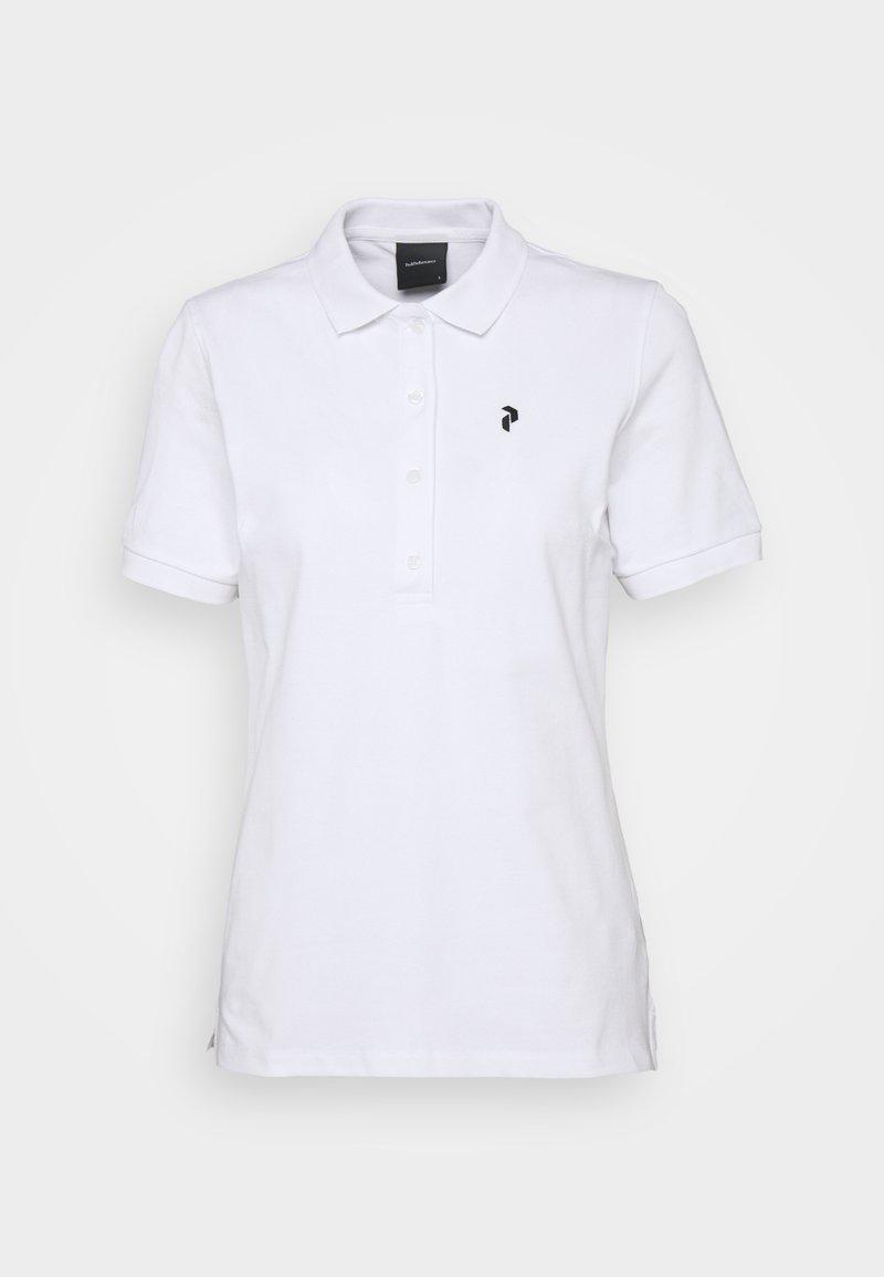 Peak Performance - CLASSIC  - Polo shirt - white