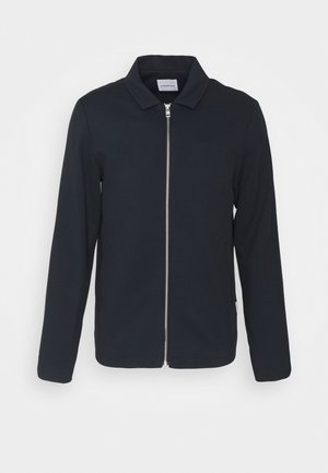 ZIP THROUGH - Summer jacket - navy