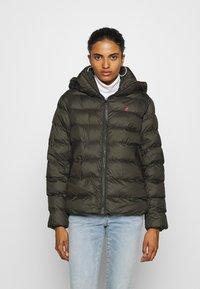 G-Star - WHISTLER PUFFER - Winter jacket - asfalt - 0