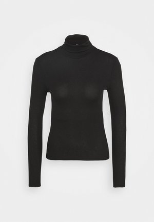 PCBIRDIE HIGH NECK - Longsleeve - black