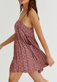 PULL&BEAR - Day dress - red - 4