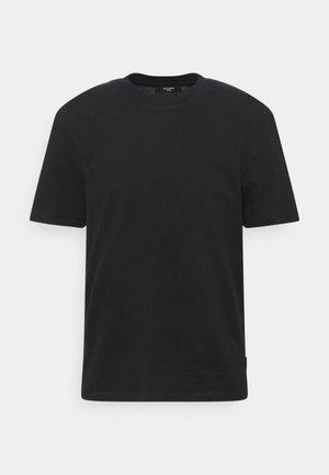 JPRBLAPEACH TEE CREW NECK - T-shirt basic - black