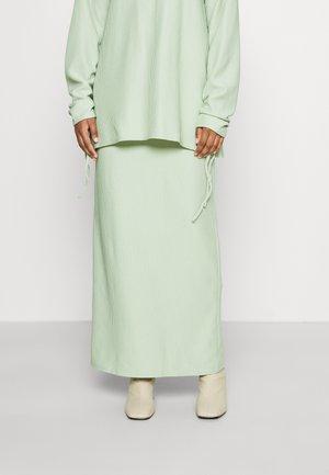 MODESTY SKIRT - Maxi skirt - mint