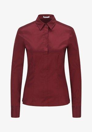 BASHINA - Button-down blouse - dark red