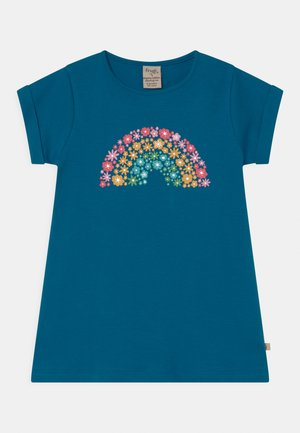 EMERY PRINTED  - T-shirt z nadrukiem - blue